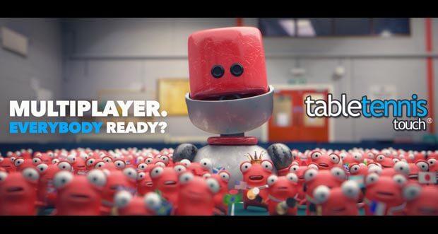 """Table Tennis Touch"" bekommt nächste Woche Multiplayer-Update"