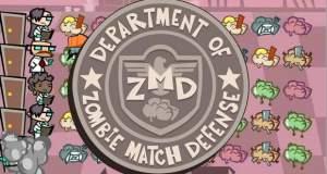 Zombie Match Defense: witzige Mischung aus Match-3-Puzzle und Lane-Defense