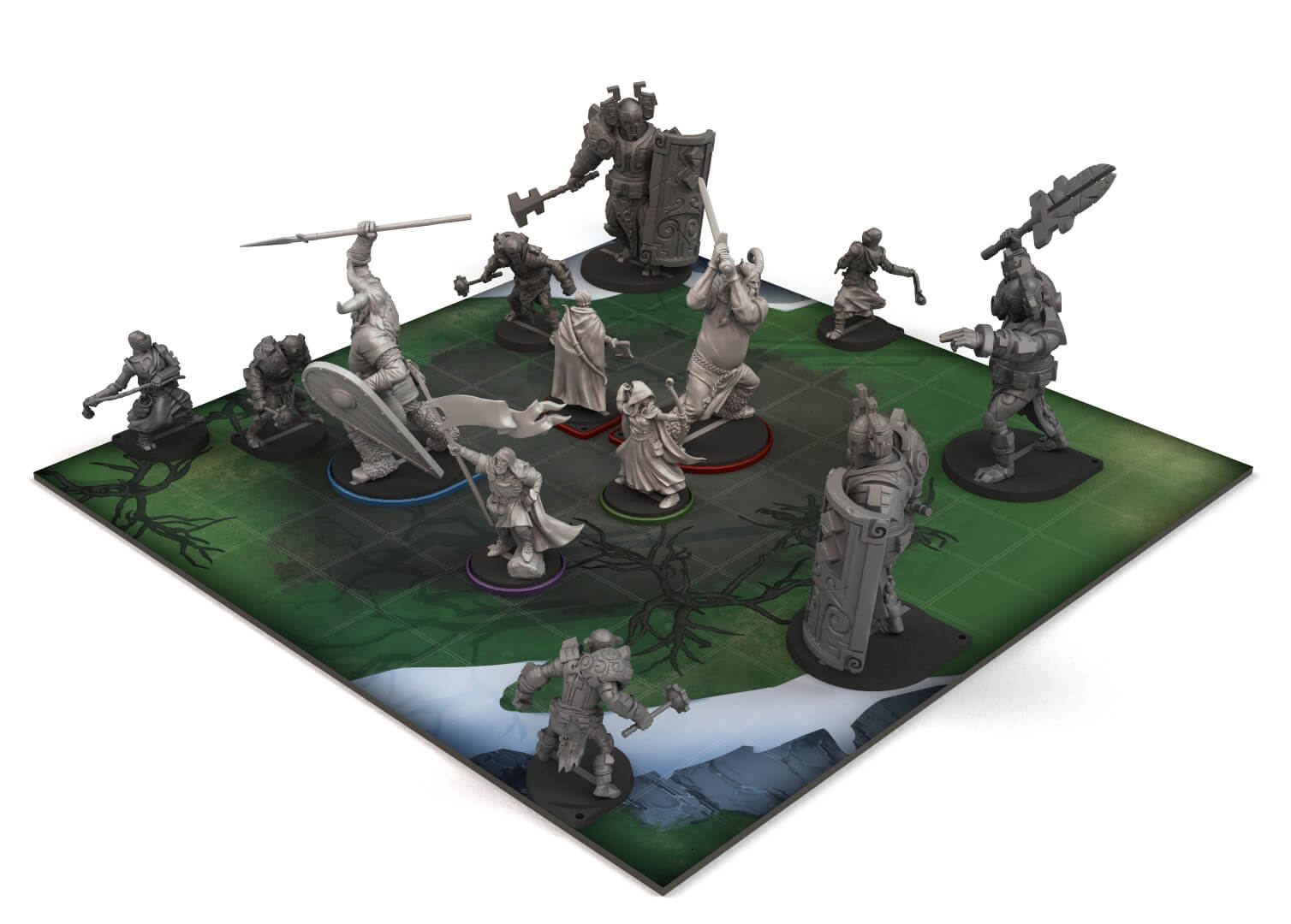 The Banner Saga: Warbands Spiel