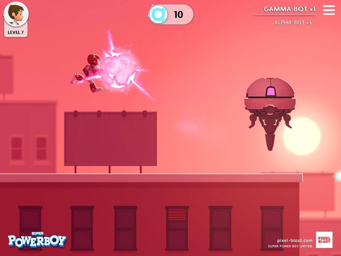 Super Powerboy iOS Spiel