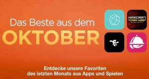 Das Beste aus dem Oktober: Apples Favoriten