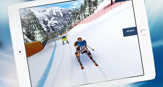 """Ski-Abfahrt """"Eurosport Ski Challenge 16"""" rast in die neue Saison"""