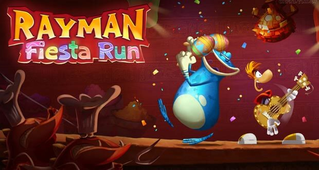 "Grandiosen Platformer ""Rayman Fiesta Run"" kostenlos laden"