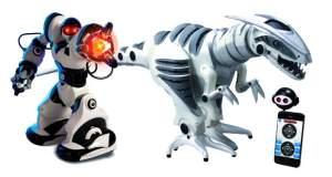 Robosapien X & Roboraptor X: zwei Gadgets mit App-Steuerung im Test