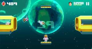 Space Transfer: gelungenes Highscore-Game im Weltall