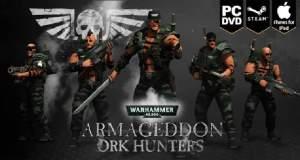 """""""Warhammer 40,000: Armageddon"""" erhält neue """"Ork Hunters""""-Erweiterung"""