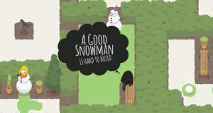 A Good Snowman Is Hard To Build: winterlicher Puzzlespaß reduziert