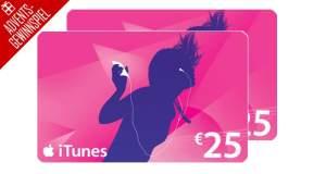 Advents-Gewinnspiel Tür 23: 2x 25€ iTunes Guthaben zu gewinnen