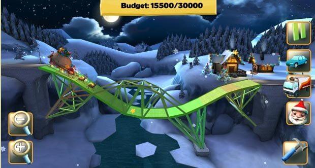bridge-constructor-snowy-hills-kostenloses-winter-update