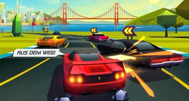 Unsere Favoriten aus 2015: die besten Rennspiele für iOS