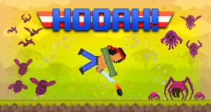 Hooah!: witziger Retro-Platformer mit einem Raketenwerfer als Antrieb
