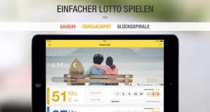 Lotto per App spielen