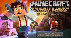 "A Block and a Hard Place: 4. Episode von ""Minecraft: Story Mode"" ist jetzt verfügbar"