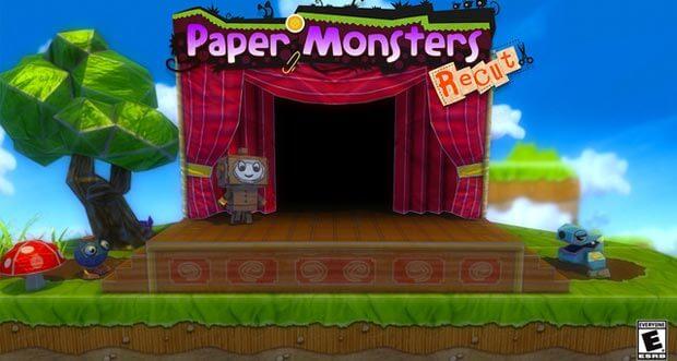 "Platformer ""Paper Monsters Recut"" dank Werbung kostenlos spielen"