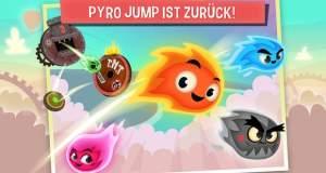 Pyro Jump Rescue: heißes Platform-Spiel dreht am Rad