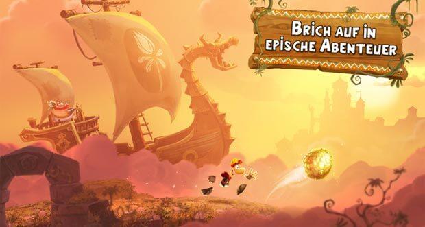 """Rayman Adventures"" ist nun weltweit verfügbar"