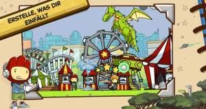 Scribblenauts Unlimited: kreatives Rätselspiel mit unzähligen Möglichkeiten