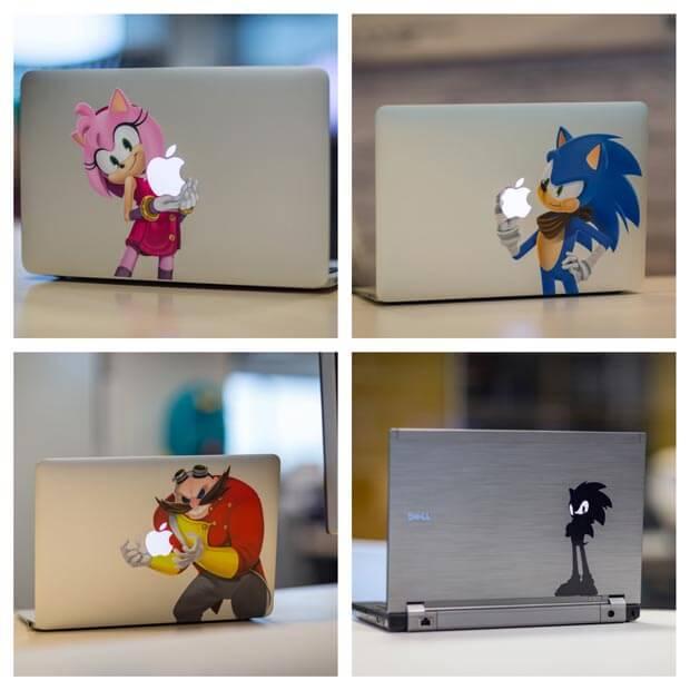 Sonic Aufkleber iOS