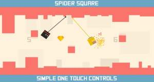 """Neues Highscore-Game """"Spider Square"""": einmal kurz wie Tarzan fühlen…"""