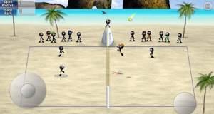 Stickman Volleyball: Djinnworks Strichmännchen spielen jetzt auch Beach-Volleyball