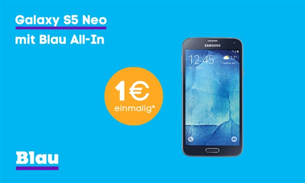 Galaxy S5 Neo inklusive All-In Tarif