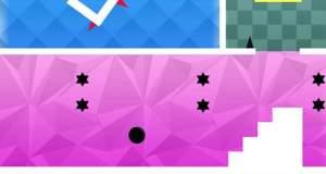 Bouncy Pong ●: Platformer mit vielen Räumen & einem springenden Punkt