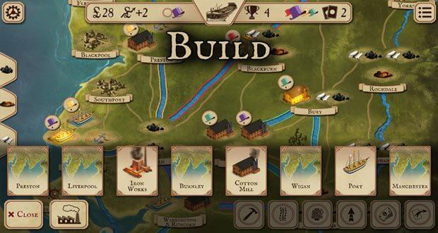 """Strategie-Brettspiel """"Brass"""" für iOS erstmals im Angebot"""