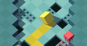 """""""Adventure Cube"""" von Ketchapp: endlose Flucht vor dem Abgrund"""