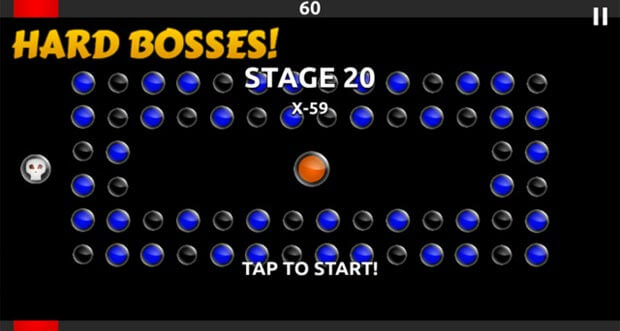 "Neues Arcade-Game ""Destrucion Dots"" erfordert Timing"