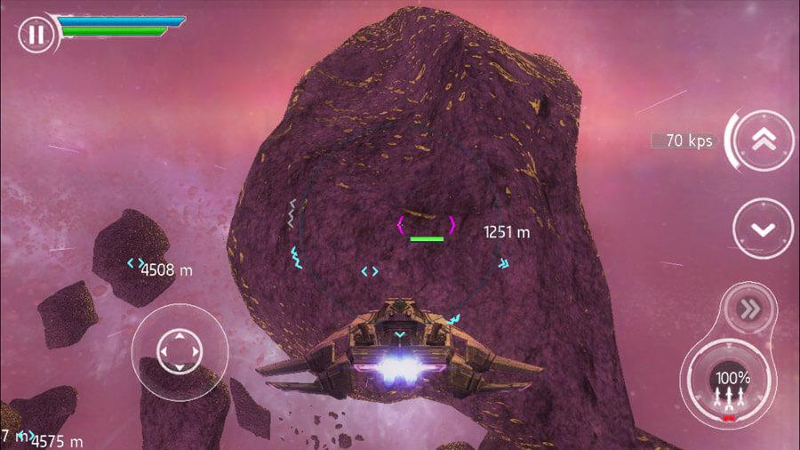 Stellar Wanderer iPhone iPad Spiel