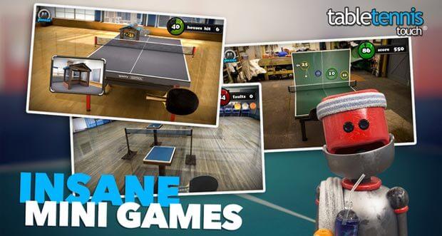 """Herausragendes """"Table Tennis Touch"""" erhält per Update weitere Verbesserungen"""