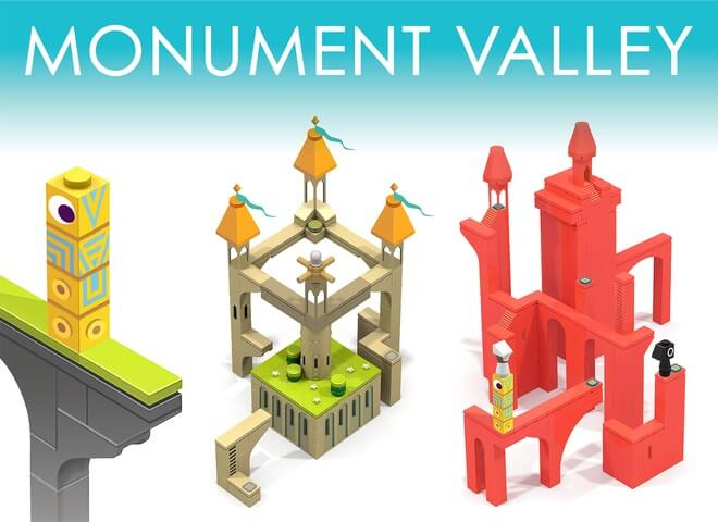 Monument Valley aus LEGO iOS