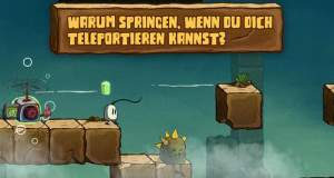 "Teleporter-Plattformer ""Blown Away: Secret of the Wind"" erstmals reduziert"