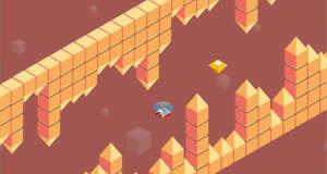 "Cubecopters: wie ""Flappy Bird"", aber als isometrischer Helikopterflug"