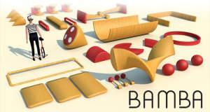 """""""Bamba"""" für lau laden: Geschicklichkeitsübung auf einem Rad"""