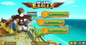 Insane Eagles: als Adler auf Beutejagd durch die Stadt