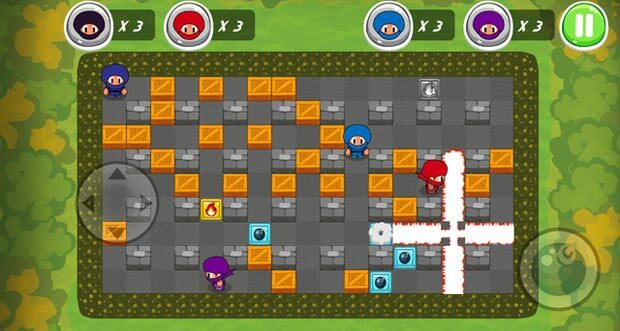 "Bomberman-Hommage ""Ninja Boy Adventures"" neu im AppStore"