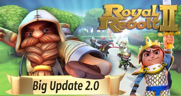 """""""Royal Revolt 2"""" feiert Geburtstag & erhält umfangreiches Update"""