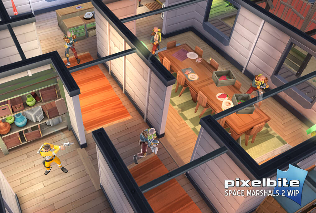 Space Marshals 2 iOS Shooter