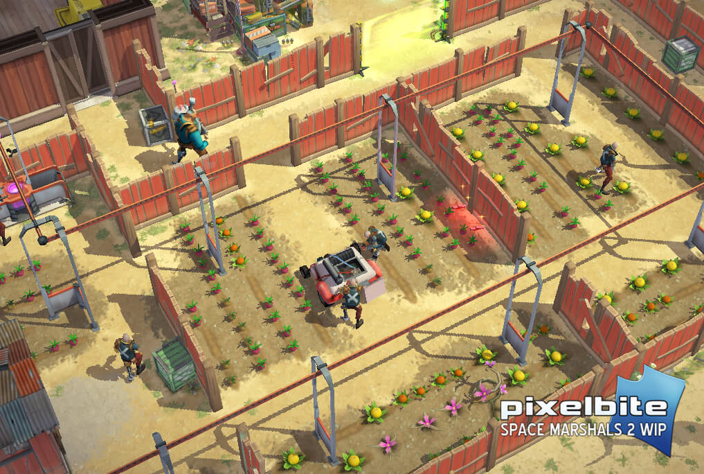 Space Marshals 2 iOS Preview