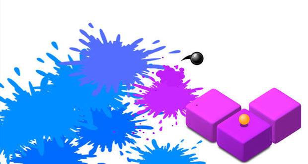 """""""Splash"""" ist ein kunterbuntes Highscore-Gehüpfe von Ketchapp Games"""