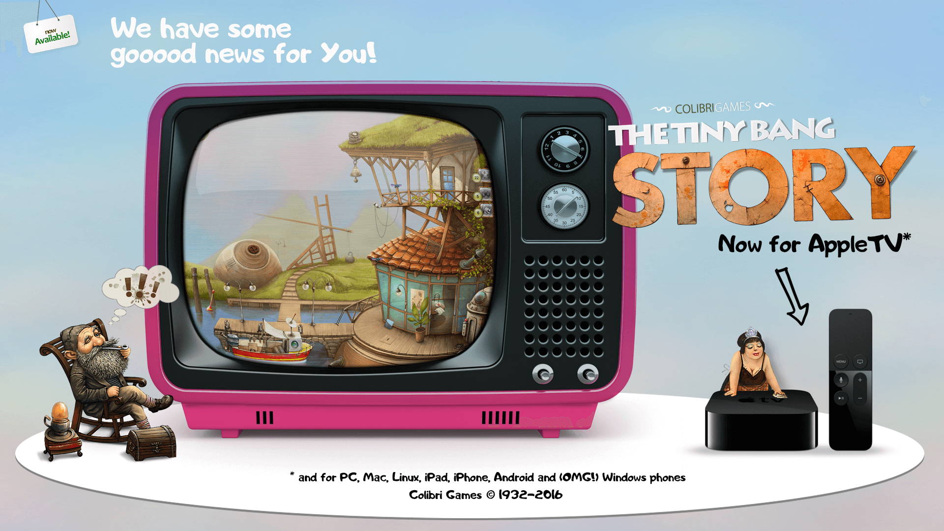 The Tiny Bankg Story Apple TV Game