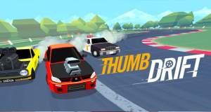 Thumb Drift: wildes Drift-Rennspiel mit One-Touch-Steuerung