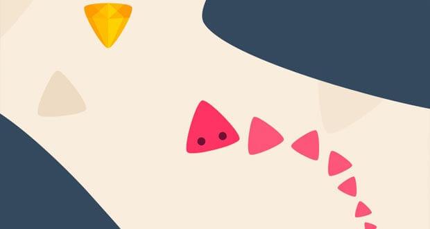 """""""Triangle Dash!"""" ist ein neues Highscore-Game von BoomBit"""