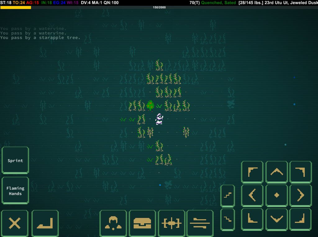 Caves of Qud iPhone iPad