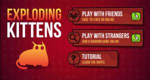 Exploding Kittens: verrücktes Kartenduell jetzt mit Online-Multiplayer