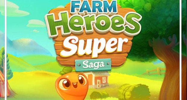 """King veröffentlicht neues Match-3-Puzzle """"Farm Heroes Super Saga"""""""