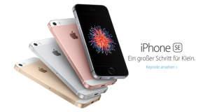 iPhone SE und iPad Pro mit 9,7 Zoll Display jetzt vorbestellen