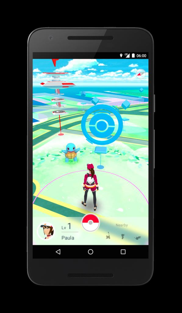 Pokémon GO iOS Preview