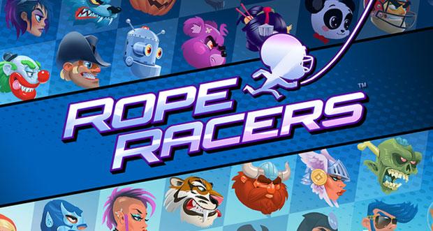 """Mehrspieler-Rennen """"Rope Racers"""" schwingt in den AppStore"""